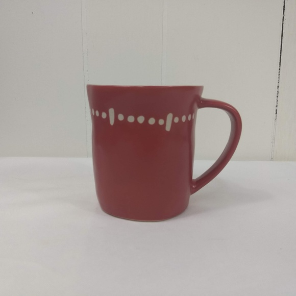 Starbucks Kitchen Starbucks Red Rustic Ceramic Coffee Mug Poshmark